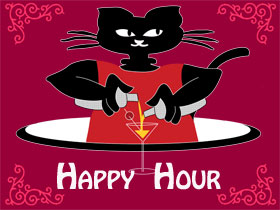 Post image for Happy Hour – Entire Bar Half Price